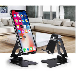 Selling Black And Silver Portable Foldable Universal Smart Mobile Holder With Best Quality From China