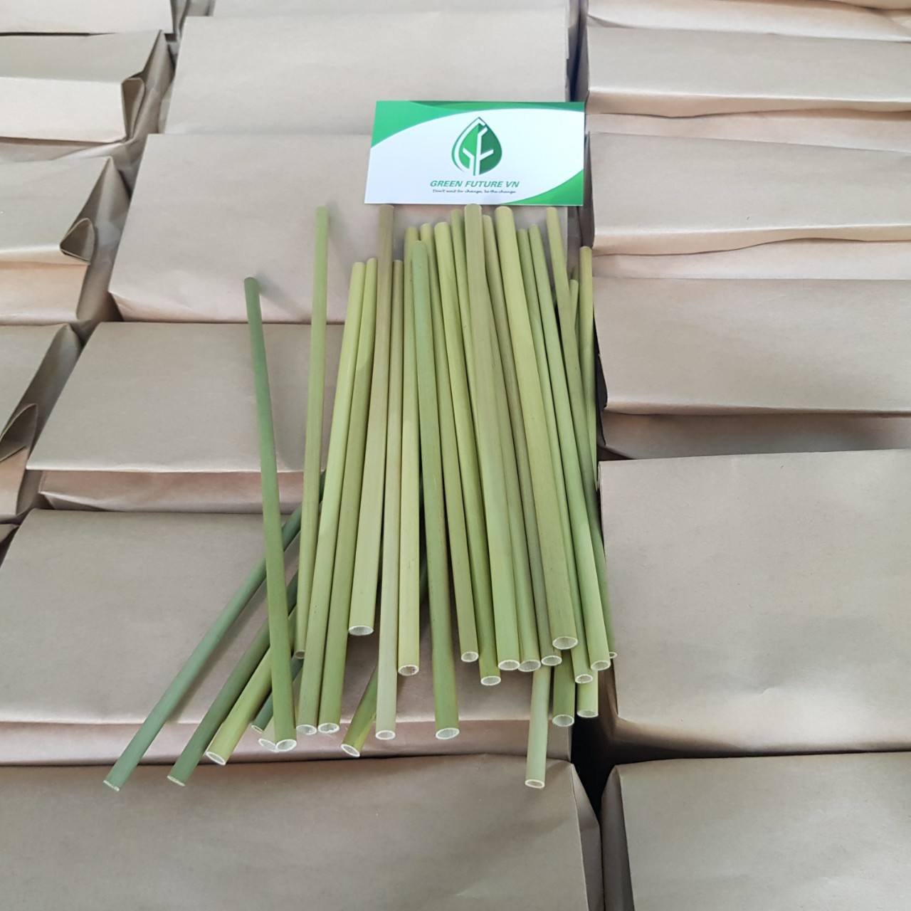 big Supply grass straws for Amazon seller from Viet Nam