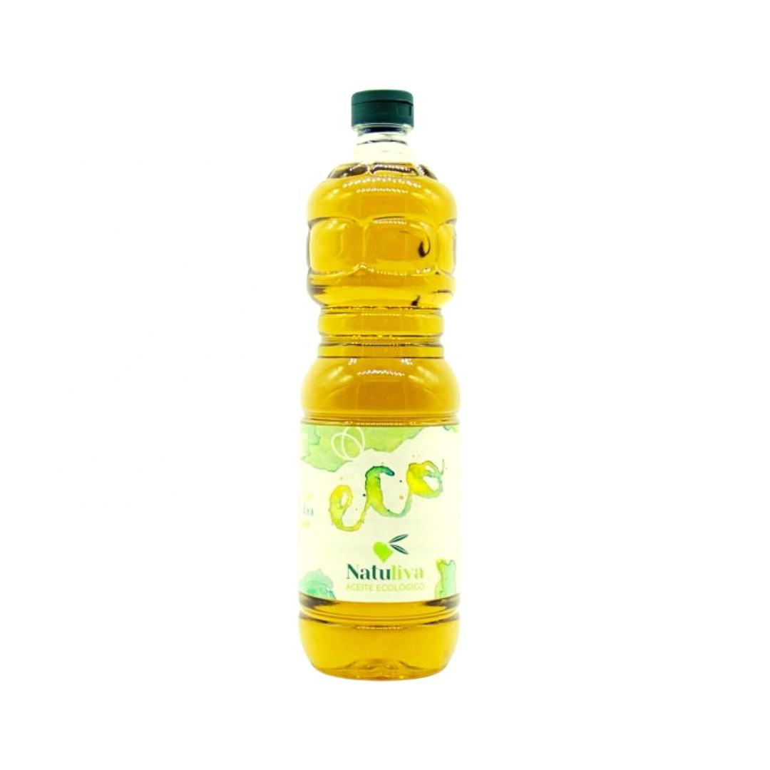 Spanish Ecological Extra Virgin Olive Oil 1 Liter Selection For Cooking and Seasoning