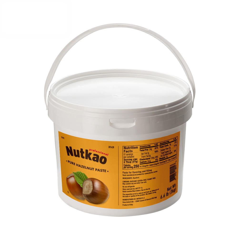 Ideal to mix with Chocolate for roasted hazelnut paste  Nut 26201  3.0kg  6.6Lb   buckets