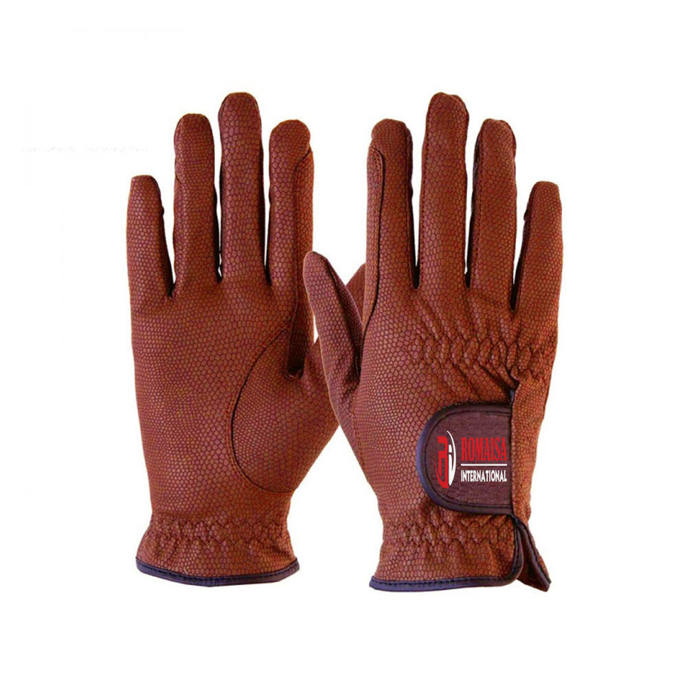 Top quality leather horse riding gloves comfortable Horse Riding Gloves