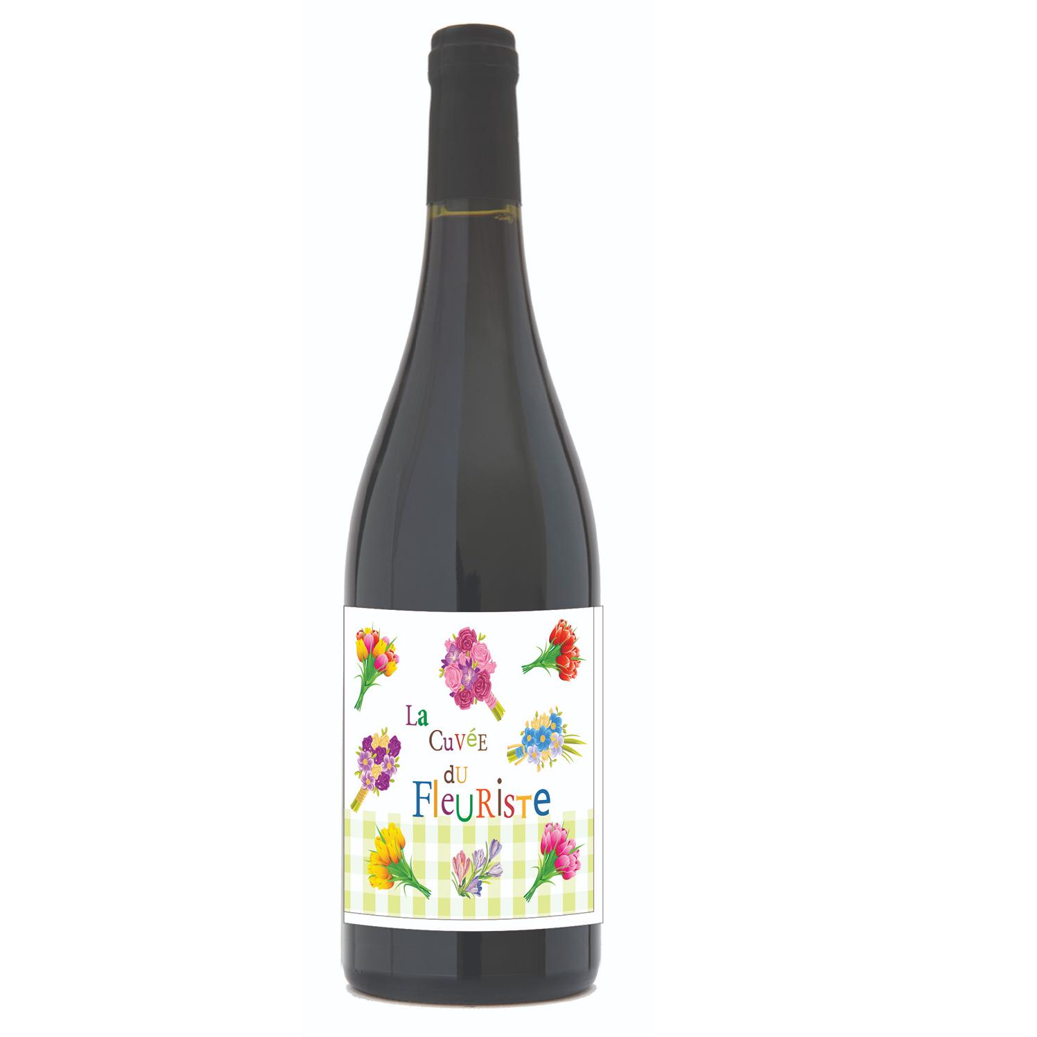 Wholesale Le Rouge du Fleuriste 2017 French Red Wine