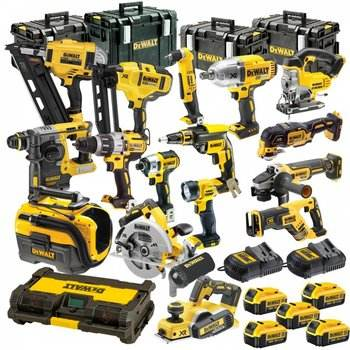 Power Drills NEW-DeaWalts Combo Kit Tool Set 18 Volt 20 Volt XRP Power Tools Drills