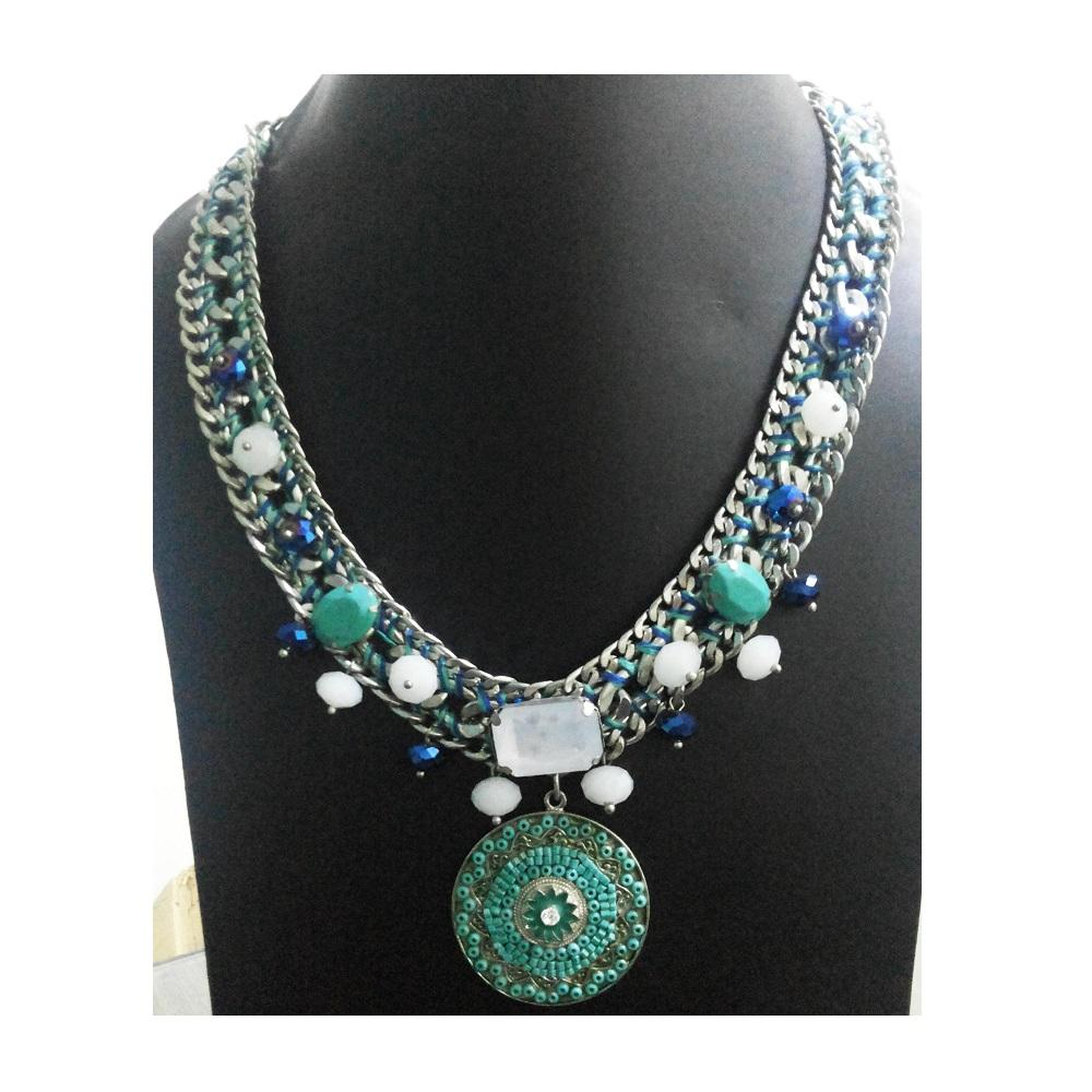 Beadsworks Traditionnel Perles Collier indien en dames collier