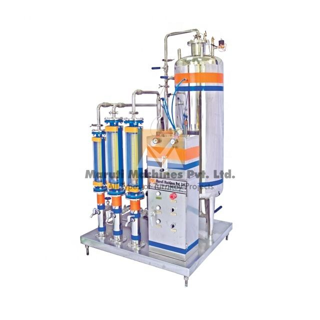 Multi stage primix carbonator