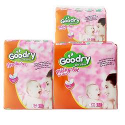 Super absorbent newborn pad GOODRY brand from KYVY Corp in Vietnam