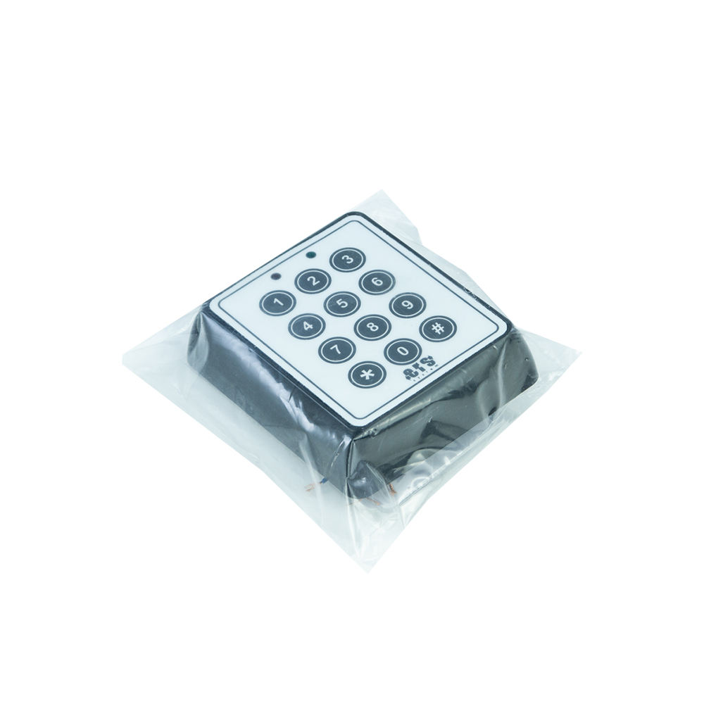 NUMERIC PASSWORD KEYPAD WITH INTEGRATED CARD