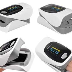 Medical use oled display fingertip pulsimetro for blood pulse and oxygen