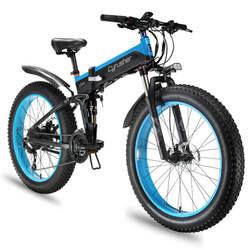 Electric bike 48V 1000W electric folding bike E-MTB 4.0 fat tire Electric Bike