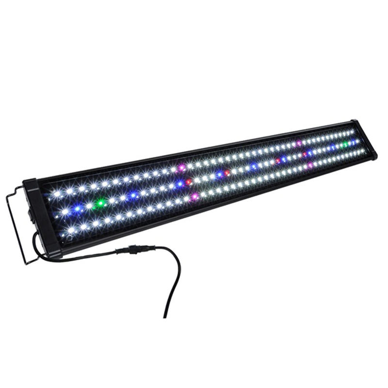 30cm-120cm aquarium LED lights eu us plug multi color full spectrum freshwater fish tank plant Bar lamp marine lighting