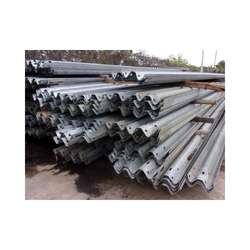 "Used Metal Guardrail 26' x 12""- Galvanized"