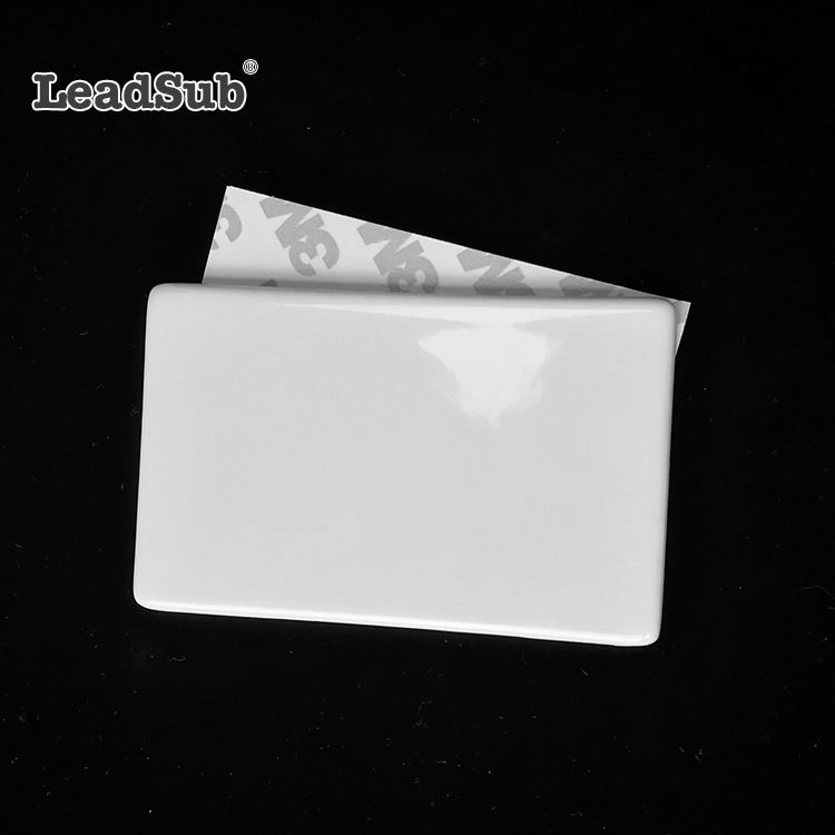 Leadsub Promotional Blank Rectangle Shaped Ceramic tile Fridge Magnet for Sublimation