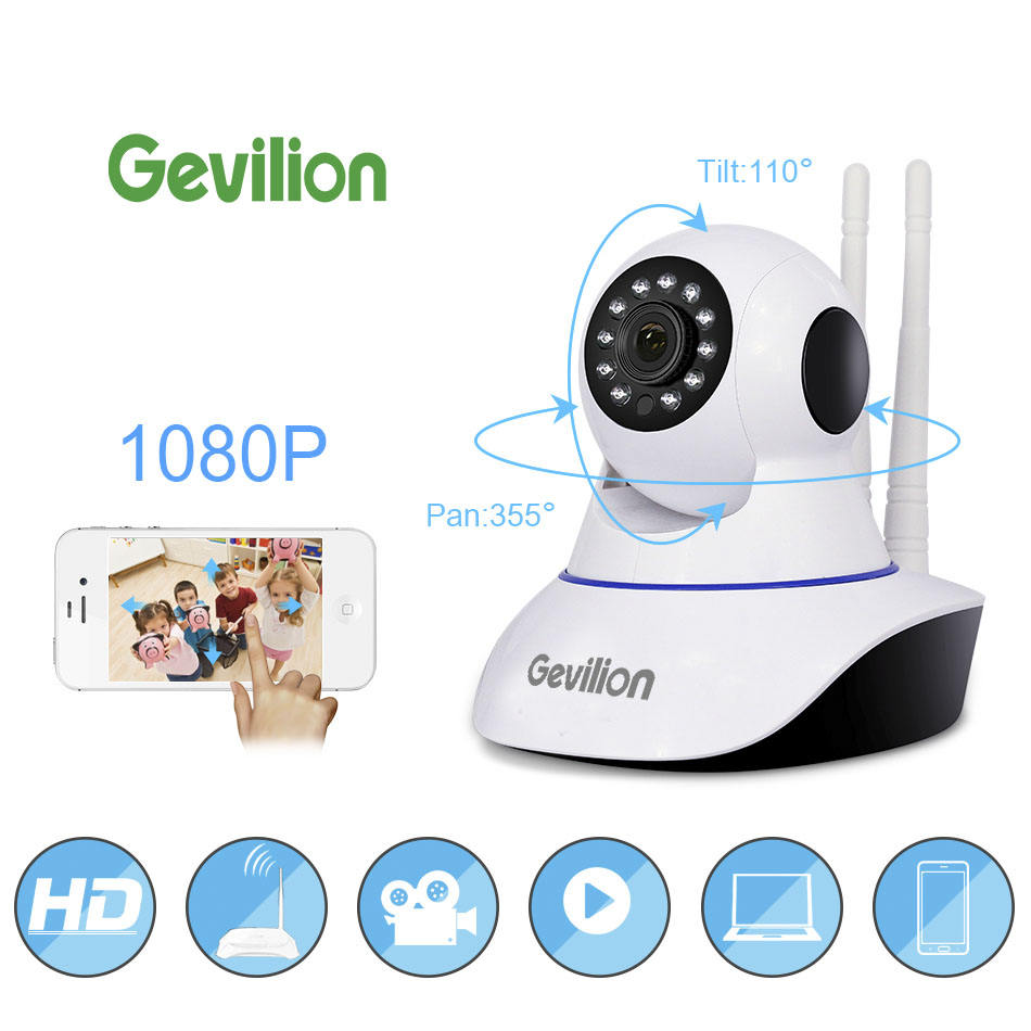 Smart 2 Way Cctv Home Wifi Ip Mini Security Home Baby Monitor 1080P Ptz Camera With App