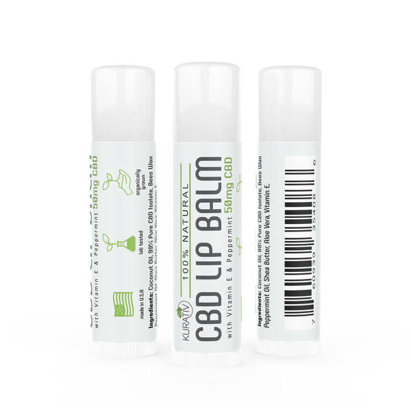 Cbd Lip Balm 50Mg 4086 W Case 50Pk All Natural Ingredients Including Vitamin E Shea Butter And Peppermint Oil