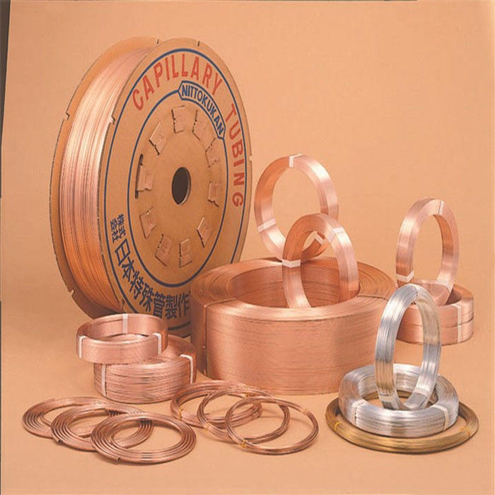 High Quality Copper Capillary Tube extensive Used for Various Kind of Applications Refrigeration and Air Conditioning Appliances