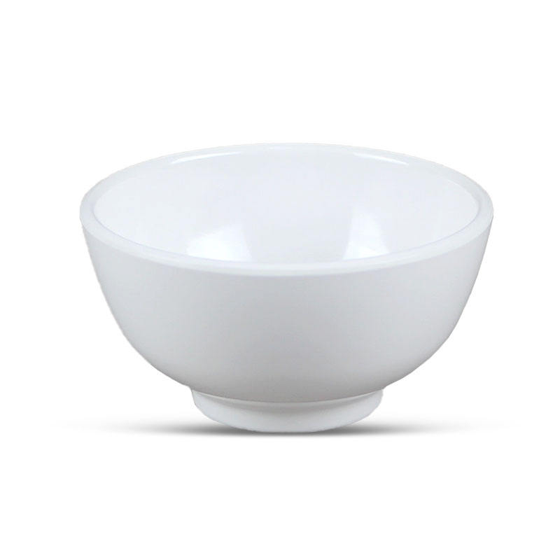 Hot sale high quality BPA free plastic food soup melamine rice bowl