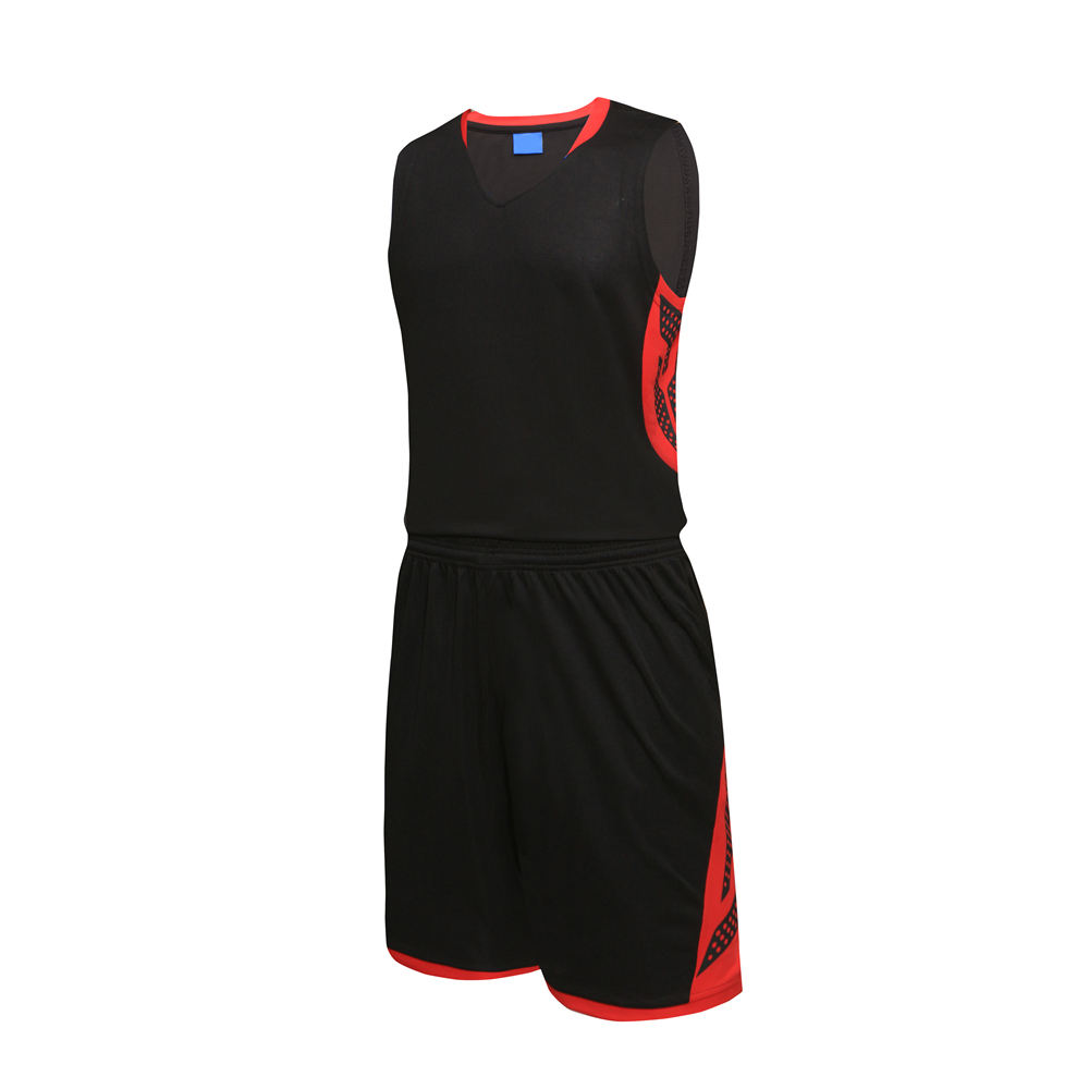 Factory Price Sublimation 100% Polyester Basketball Jersey Uniform Design