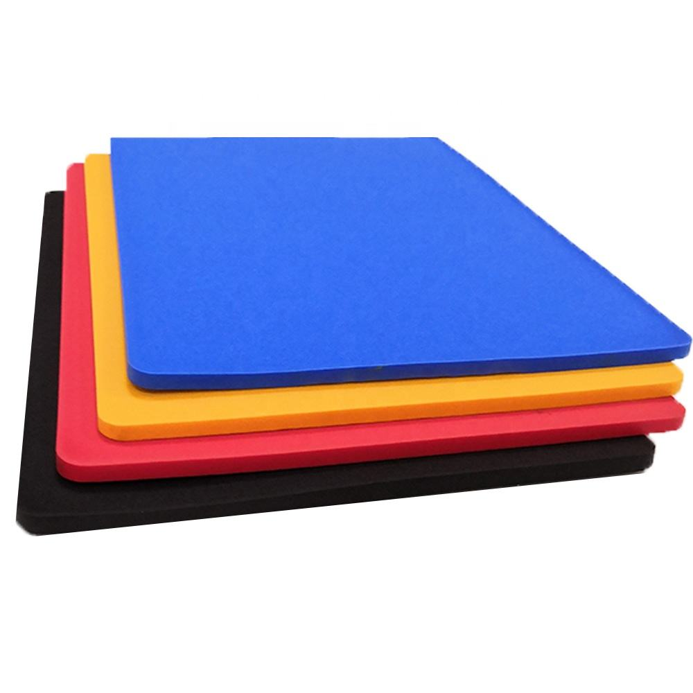 Blue Color Plastic Foam Polyurethane Sponge Sheets