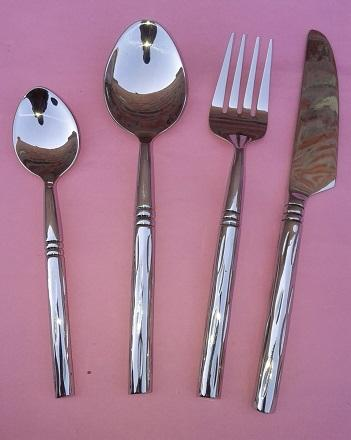 Hand Made Glossy Stainless Steel Cutlery