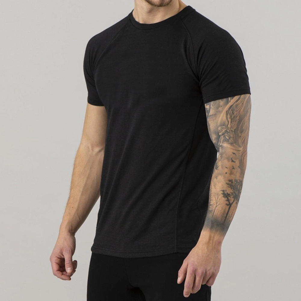 2020 Mens Fashion T Shirt OEM Soft Short Sleeve Male Custom Printed t shirts