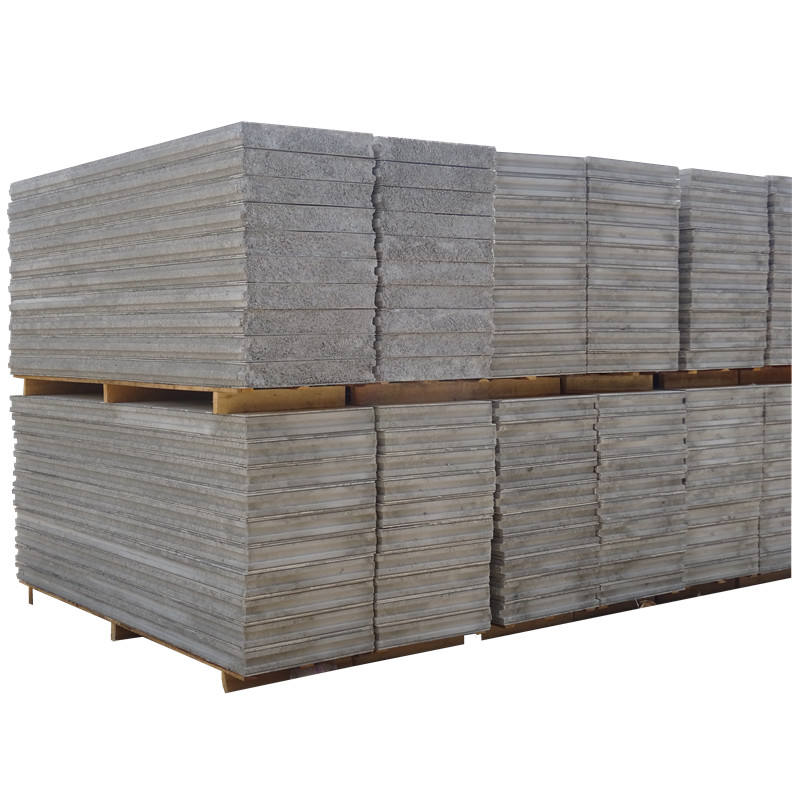 Hotel Use and fiber cement Sandwich wall Panel Material Prefabricated Homes
