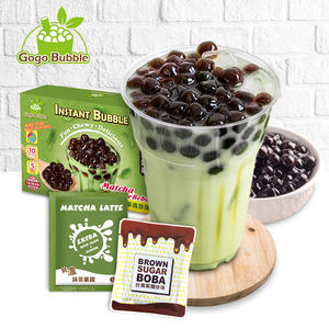 Sample Taiwan Most Delicious Matcha Instant Boba Bubble Milk Tea