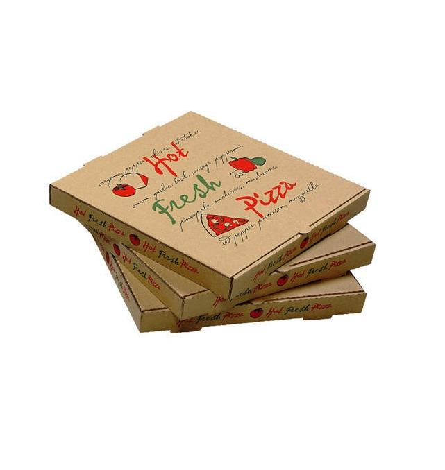 7 8 9 10 12 14 18 Inch Pizza Boxes Various Sizes Corrugated Kraft Paper Pizza <span class=keywords><strong>Box</strong></span>