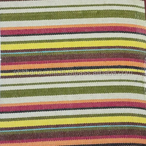 New Woven Striped Cotton and Dobby Fabric Fabrics In India Textile Supplier