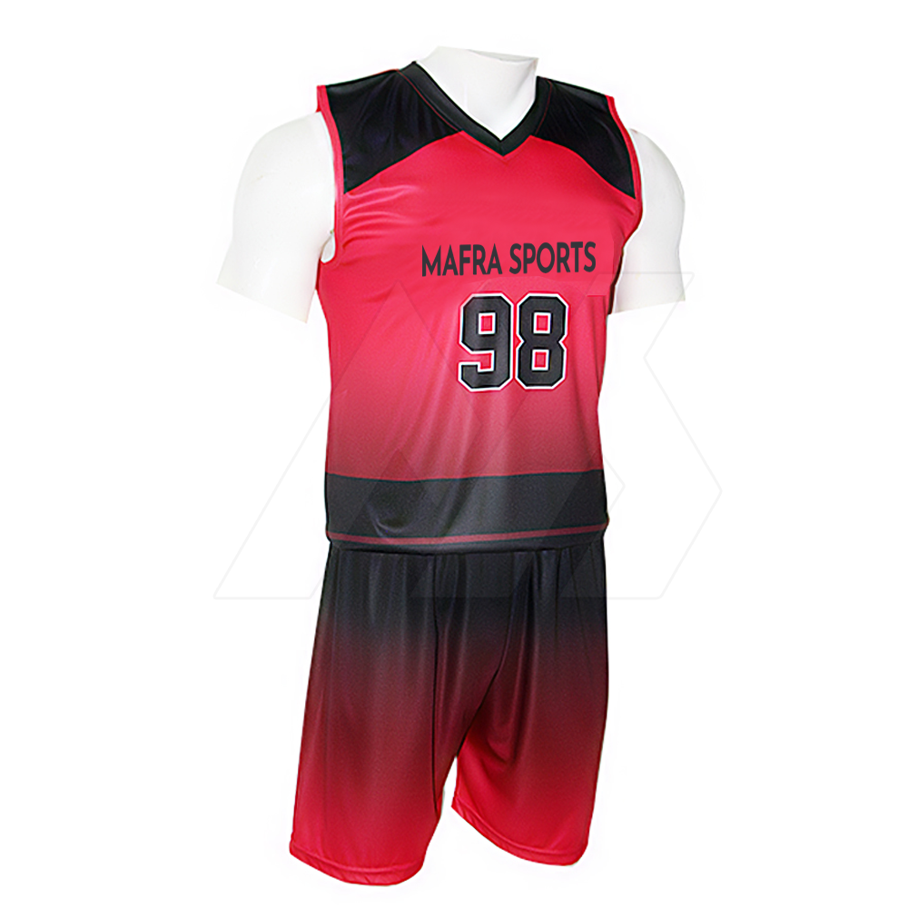 OEM Service Wholesale sportswear Volleyball Uniforms Design Your Own Sleeveless Sublimation Volleyball Jersey