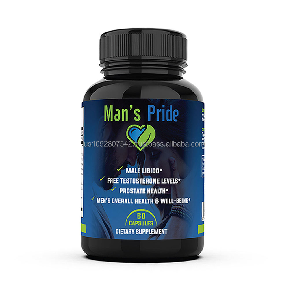 Organic health Man's Pride USA origin good quality effective sexual booster