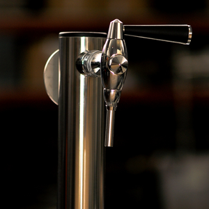 Stainless steel beer tap  Taps with compensator  specially designed to adjust foam level of the beer in its dispense