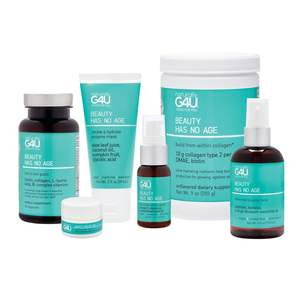 NG4U Beauty Has No Age Build From Within Collagen Powder 9 Oz Revitalize Tired Skin For Youthful Glow