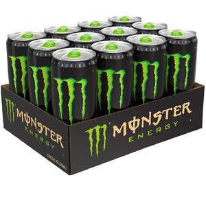 Monster Energy Drink Mixed Case of 12 x 500ml (Original, Ultra Zero, Ultra Violet, Punch)