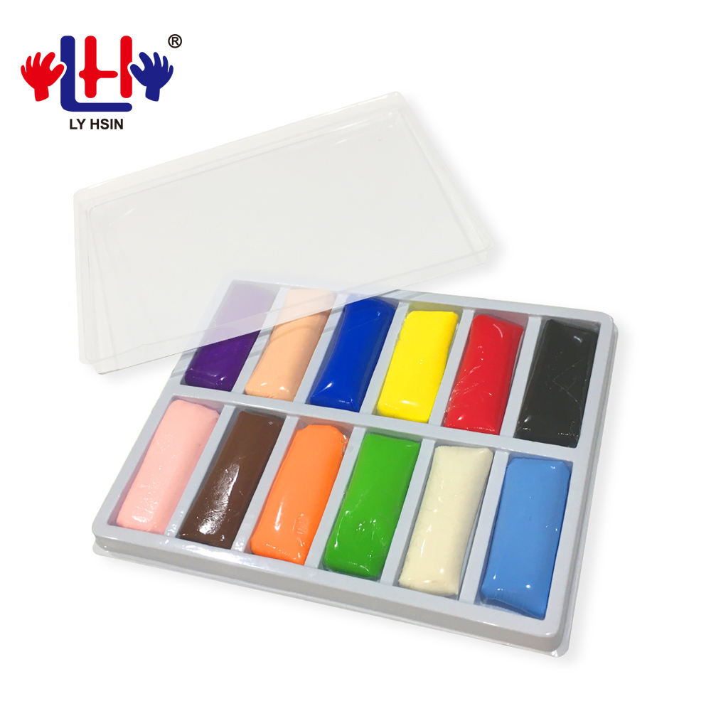 Art Craft Crystal Color Dough Thai Resin Clay