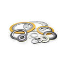 "Spiral Wound Gasket, 1-1/2"" Pipe Size, 150 LB Class Flange, 304 Stainless Inner Ring & Windings with Graphite Filler (10gasket)"