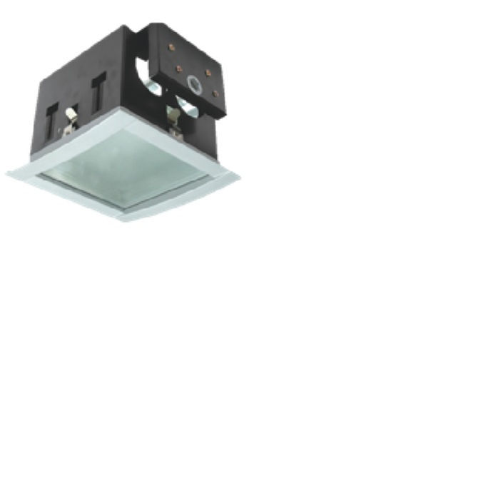 2x26w Square Downlight complete with Electronic ballast