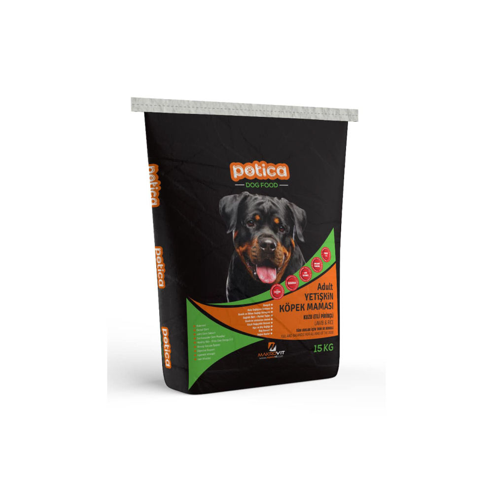 Potica Adult Dog Food - Adult Dog Food With Lamb Meat & Rice