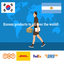 KOREAN FORWARDER SHIP FROM KOREA TO Argentina SHIP BY EMS/DHL/TNT/FEDEX/UPS KOREA SHIPPING ADDRES