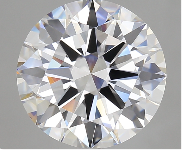GIA CERTIFIED WHITE D COLOUR DIAMOND ROUND BRILLIANT SHAPE 4 CARATS FL CLARITY NATURAL DIAMOND for Jewellery