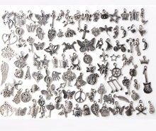 Wholesale Lot Tibetan Silver Mix Pendants Charms For Bracelet Necklace