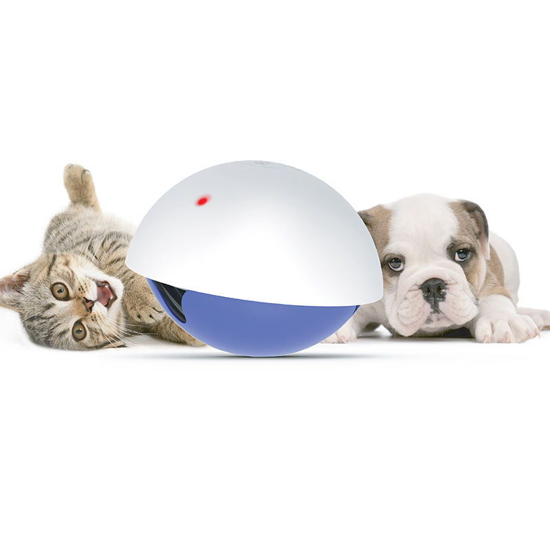 Smart Interactive Cat Laser Toy Food Pet Laser Pointer Training Cat Toy