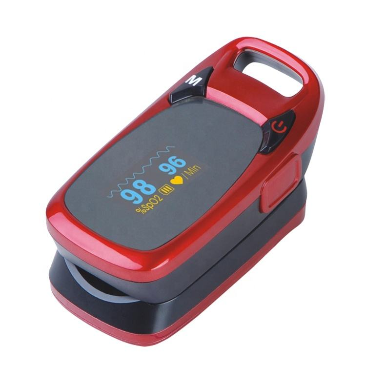 High quality OLED Red finger fingertip pulse Oximeter with cheap price
