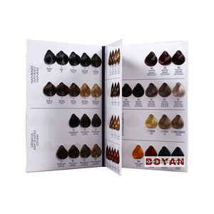 professional well-display standard catalogue hair color chart for loreal