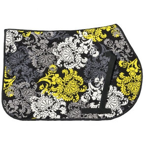 Floral Print Best Price All Purpose Quilted Saddle Pad Horse Riding Equestrian Jump