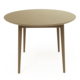 Ready To Ship Natural Oak Color Solid Oak Round Dining Table