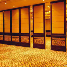 Room wall divider wooden folding partition soundproofing folding partition walls