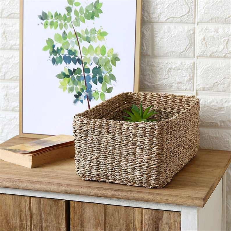 Best price Handwicker storage baskets holders bags made from natural seagrass