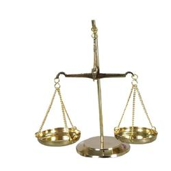 Decorative Brass Balance scale
