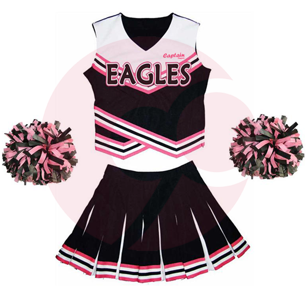 Top Quality Cheer Leading Uniform Made In Pakistan Cheer Leading Uniform For Buyer