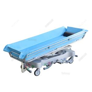 Taiwan medical shower bed trolley for disable